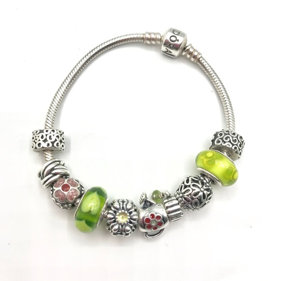 Pandora Jewelry - Authentic PANDORA Garden Themed Bracelet